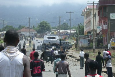 Affrontements au Cameroun