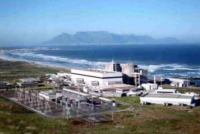 Station nucléaire de Koeberg en Afrique du Sud