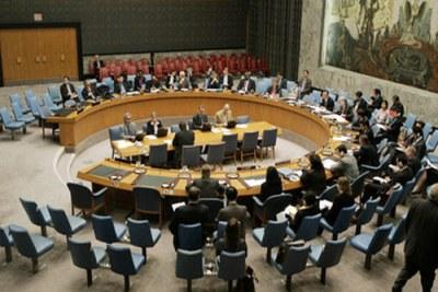 Conseil de sécurité de l'ONU se rencontrant pour le Sahara Occidental (le 31 octobre 2006).