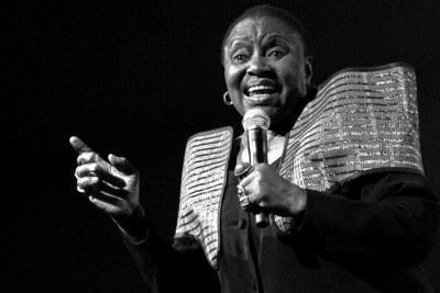 The late Miriam Makeba.