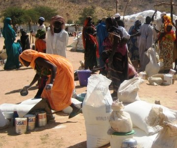 Aid Delivery to Chad