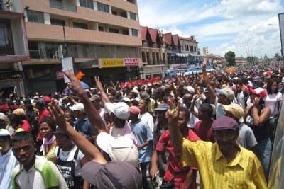Les échauffourées lors de la manifestation du 19 mai ont fait vingt arrestations et six blessés, du moins officiellement.(Photo d'archives)