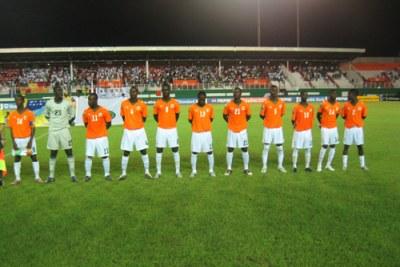 L'équipe de la Cote d'Ivoire (Photo- Chan 2009)