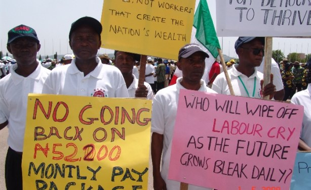 Image result for Nigeria's new minimum wage