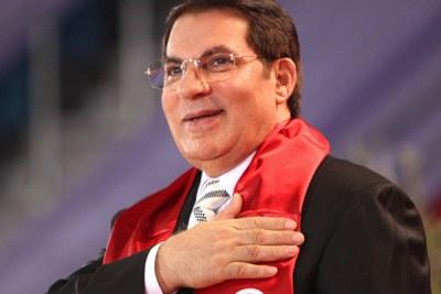 Tunisia's President Zine el Abidine Ben Ali.