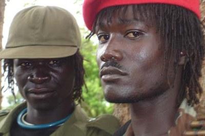 LRA fighters in Rikwangba, Sudan (file photo)