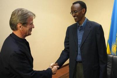 Déplacement de M. Bernard Kouchner, ministre des Affaires étrangères et européennes, au Rwanda :