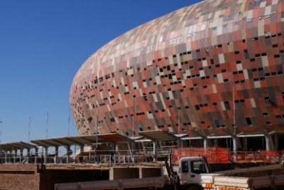 Soccer City stadium, un des lieux abritant la finale