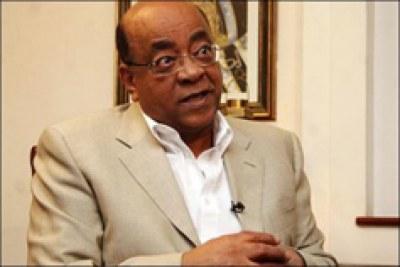 Le fondateur de la Foundation Mo foundation lors d'un interview le 17 Mars 2010.