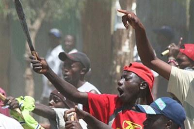 Les violences postélectorales fin 2007.