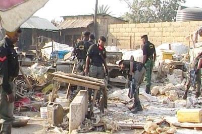 Un attentat à la bombe à Jos.