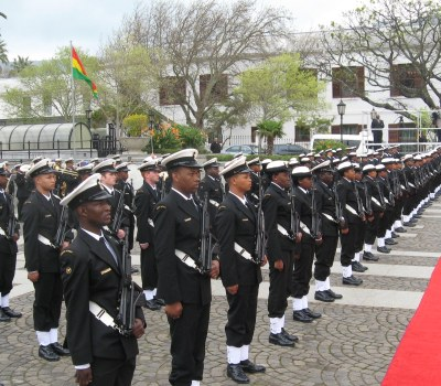 Ghana's President on State Visit to South Africa
