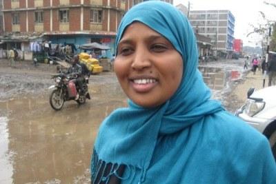 Fatumo Farah à Eastligh, Nairobi.