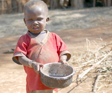Hunger Hits Village in Uganda
