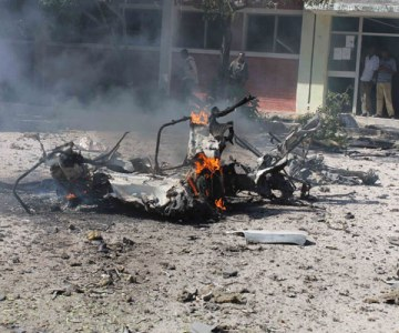 Car Bomb Explodes Near Somali Govt Building