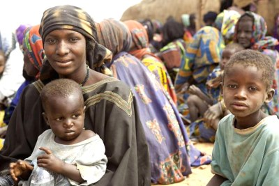 Hundreds of families have crossed the border from Mali into Niger 