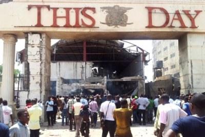 Explosions à ThisDay à Abuja et Kaduna