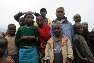 Des enfants réfugiés.