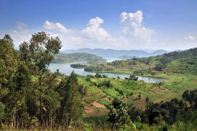 View of northwestern Rwanda. The government of Rwanda has championed a national landscape restoration strategy to improve rural livelihoods.