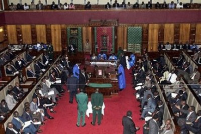 Members of Parliament to have their salaries reviewed (file photo).