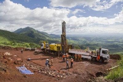 Developing iron-ore mining in Guinea.