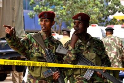 La police kenyane.