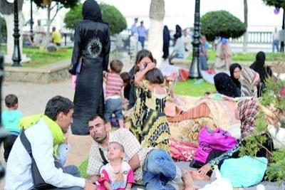 Réfugiés syriens en Algérie