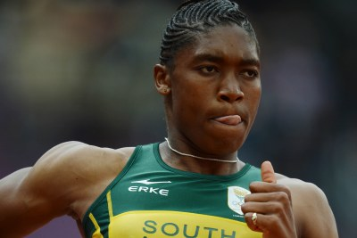 South Africa's Caster Semenya