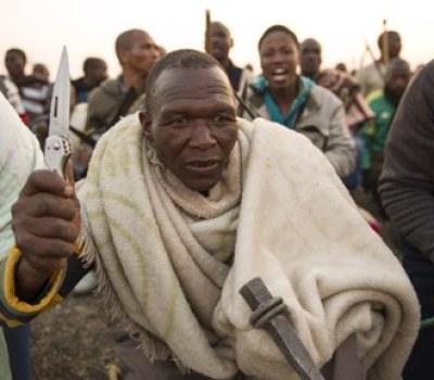 South African Mine Strike Turns Violent
