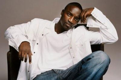 Senegalese American star Akon