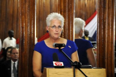 U.S Ambassador to Liberia Deborah Malac.