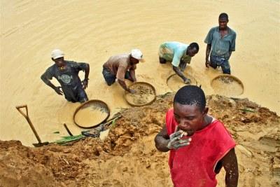 Exploitation artisanale des ressources aurifères en RDC