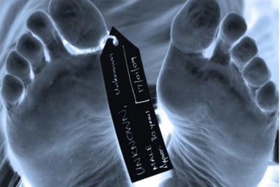 Corpse in a morgue (file photo).