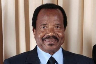 Paul Biya, Président de la République de Cameroun