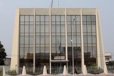 Siège du ministère des Finances à Kinshasa
