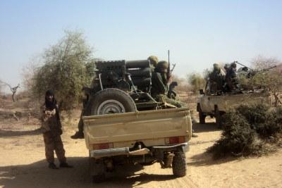 (Photo d'archives) - Al-Qaeda dans le désert africain, plus précisément au nord.
