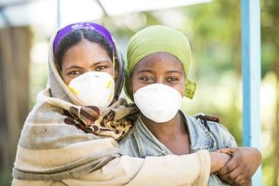 Patientes sous traitement à Addis-Abéba.