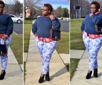 Three Ways to Pair Printed Pants