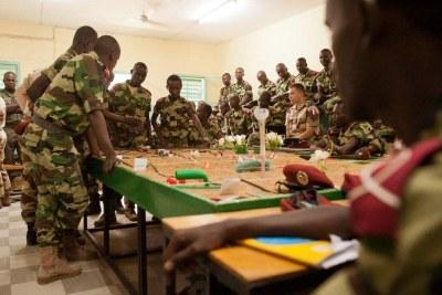 Chadian military in Mali