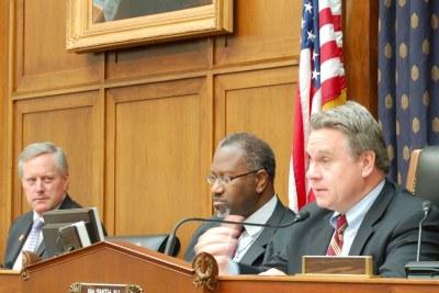 U.S. Representative Chris Smith (right)