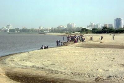 The Blue Nile beach near Khartoum (file photo).