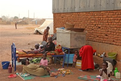 Reports say more than 64,000 people in Malakal County were displaced in two waves of fighting in the area (file photo).