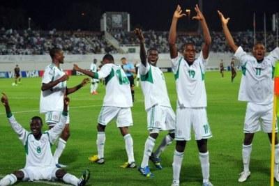Le Nigera en finale de la Coupe du Monde U-17 de la FIFA, EAU 2013