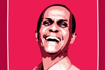 Jailed journalist Eskinder Nega.