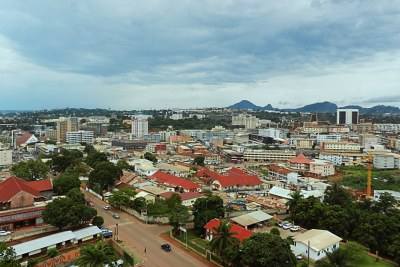 A view of Yaoundé.