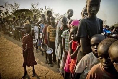 Des enfants à risque de malnutrition
