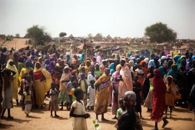 Darfur displaced (file photo).