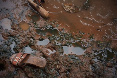 The dumping of waste, lack of sanitation and the massive rains all contribute to the high cholera risk in the communities (file photo).