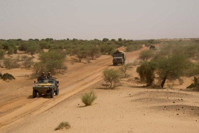 Troops in Northern Mali
