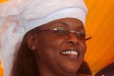 Mariéme Faye Sall, première Dame du Sénégal.